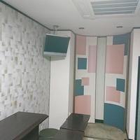 新開地のカラオケルームを和モダンな空間としました。のサムネイル
